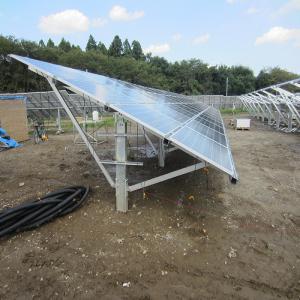 China Solar Panel Single Pole Mount Solar Ground Mounting System 50kw Solar Power Energy Solar Ground Brackets on sale