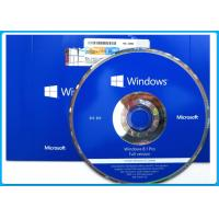 OEM Microsoft Windows 8.1 Pro Pack / Windows 8.1 Operating System Software 32 bit  64 bit English Manufactures