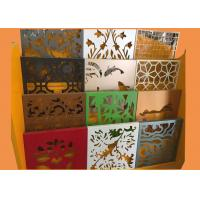 Irregular 3004 Aluminum Perforated Metal Sheet With Artistic Shapes Hole Manufactures