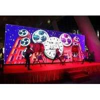 China Indoor HD Full Color Stage LED Screen P3.91 P4.81 500*500mm Cabinet Long Lifespan on sale