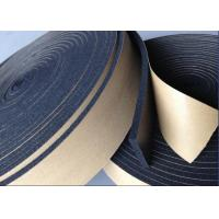 W2 Black NBR Heat Insulation Tape Fire Proof Absorb High Frequencies OEM Manufactures