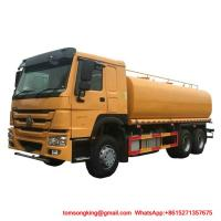 Water Bowser Truck  HOWO 6x4  25000L Water Tank WhatsAp+8615271357675 Manufactures
