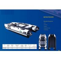 3.6M Inflatable Tender Catamaran With Airmat Floor In Pvc Tube Less Weight Manufactures