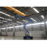 China 2 Man Small Boom Lift , Aerial Lift Equipment 80 Ft Hydraulic Type High Reach on sale