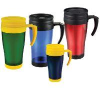 Double-wall plastic travel mug ( car cup ) Manufactures