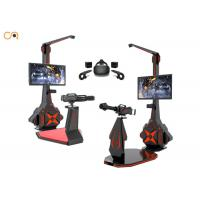 Theme Park Virtual Reality Shooting Simulator With HTC VIVE Glasses Manufactures