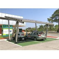 Corrosion Resistance Solar Power Charging Station With PV Solar Carport System Manufactures