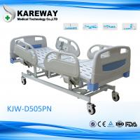 Multifunction Electric Hospital Bed With Steel PP ABS Material , 5 Inch Caster Manufactures