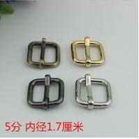 Factory Price Multi-color 17 mm Iron Metal Tri-Glide School Bag Adjustable Strap Buckle Manufactures