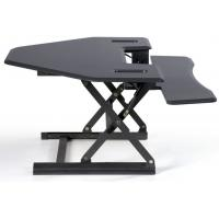 Smart Hydraulic Height Adjustable Standing Desk 36 Inch Cubicle Version Manufactures