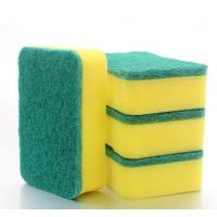 Rectangle Shape Kitchen Cleaning Sponge , Antibacterial Dish Washing Sponge Manufactures