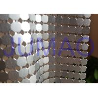 8 Mm Corrosive Resistance Silver Metal Fabric Colorful Rings Room Divider Manufactures