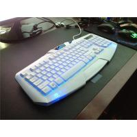 Waterproof Wired  Multi-media Silent Game Keyboard with LED Breathing Light Manufactures