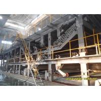 Universal Copy Paper Making Machine Single Floor Layout Wide Use In Paper Mills Manufactures