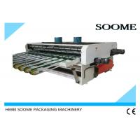 Vibrating Corrugated Carton Box Machine , Conveyor Belt Types Box Packing Strip Machine Manufactures