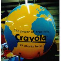 China Inflatable Advertising Earth Globe Balloons on sale