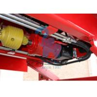Supersize Body Vertical Feed Mixer Wagon For Livestock Farm Red Color Manufactures