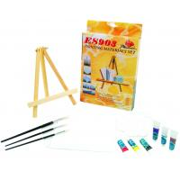 Beautiful Oil Painting Sets For Adults With Table Triangular Easel Manufactures