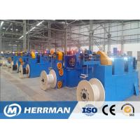 High Speed Horizontal Wire Taping Machine , Fire Resistance Cable Making Machine Manufactures