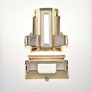 Professional Casket Hardware Plastic Coffin Corner 7# With Metal Rod Manufactures