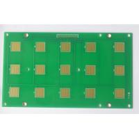 FR4 PCB Prototype Fabrication 2 Layers 1oz Copper Thickness Green Soldmask Manufactures