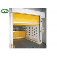 Cargo Air Showers For Clean Rooms , Decontamination Air Shower Roller Shutter Door Manufactures