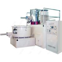 Stainless Steel 5 MM PVC Mixer Machine , High Speed Plastic Heating Cooling Mixer Manufactures