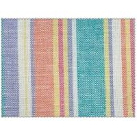 55/45 LINEN RAYON BLENDED YARN DYED STRIPE FABRIC   #1515 54X52 Manufactures
