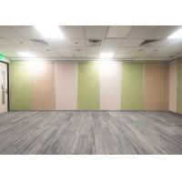 Quality Satin Anodised Portable Wall Partitions , Portable Classroom Partitions Excellent Barrier Effect for sale