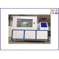 PLC Module Flammability Testing Equipment For Thermal Insulation Materials ISO 8142 Manufactures
