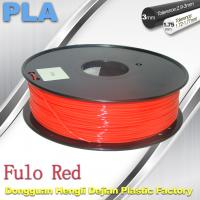 1.75 / 3mm Fluorescent Filament   PLA Fluo filament  bright color filament Manufactures