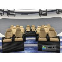 Attractive 5D Mobile Movie Theater Fiber Glasses Structure 3.75 KW 380V Manufactures