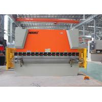 Hydraulic Sheet Metal NC Press Brake Equipment With Laser Safety Protection Manufactures