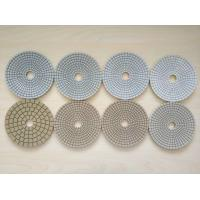 #50 #100 #200 #400 125mm White Wet Polishing Pad Thickness 2.5-3.0mm Manufactures