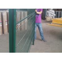 3D PVC Coated Welded Wire Mesh Fencing Color Customized CE Approved Manufactures