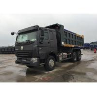 Loading Construction Goods Tipper Dump Truck LHD 371HP 30 - 40 Tons Heavy Dump Truck Manufactures