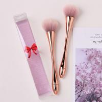 Rose Gold Plated Handle Cosmetic Makeup Brush Set Beautiful Novel Boat Shape for sale