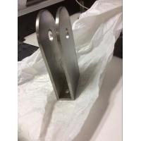 Buy cheap stainless steel glass fitting for balustrade, handrail railing post clamp from wholesalers