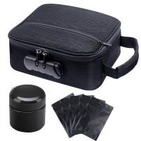 Amazing design Premium Travel smell proof bag with Combination Lock Manufactures