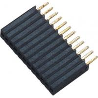 1*12P H=8.5 Female Header Connector Connector 1.27 Mm Pitch Phosphor Bronze Manufactures