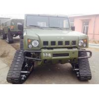 Jeep / Truck Rubber Track System Small Size With 400mm Width Crawler Manufactures