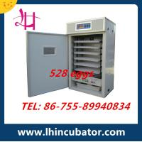 528 eggs incubator China egg incubator CE Marked best prise Manufactures