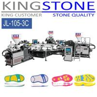 Kingstone Machinery Rotary 3 Color PVC TPR Sole Injection Machine Manufactures