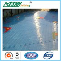 Portable Outdoor Rubber Interlocking Gym Flooring Tiles 2500N Suspended Sports Flooring Surfaces Manufactures