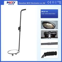 China Portable Vehicle Inspection Mirror , 30cm Convex Under Vehicle Search Mirror on sale