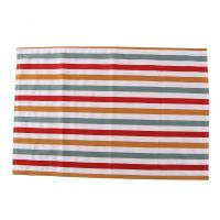 Colorful Stripe Printed Dining Table Mats Cotton Fabric For Decoration Manufactures
