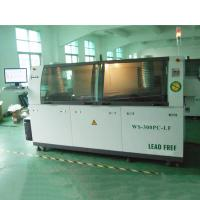 China Electronics DIP Automatic Wave Soldering Machine With Streamlined Body Design on sale