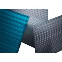 Greenhouse Triple Wall Polycarbonate Sheet Impact Resistance Ten Year Warranty Manufactures