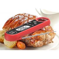Food Service Quick Read Digital Thermometer Auto Rotation Display With Long Life 3V Button Battery Manufactures