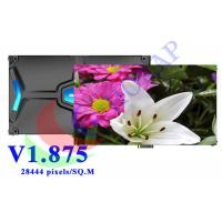 Energy Saving Video HD LED Display Rental 1.875mm High Refresh Rate Black SMD 1010 Manufactures